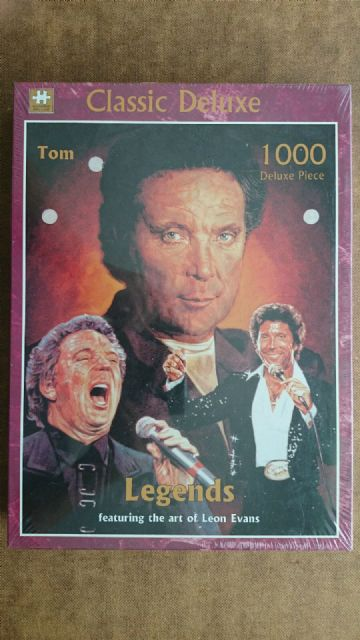 Tom Jones Legends 1000 Piece  Jigsaw (NEW AND SEALED)